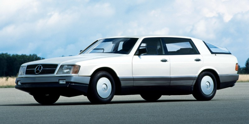 Concept Flashback - 1978 Mercedes-Benz Auto 2000 Concept Is Fastback Aero Limo15