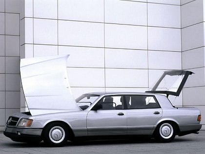 Concept Flashback - 1978 Mercedes-Benz Auto 2000 Concept Is Fastback Aero Limo3