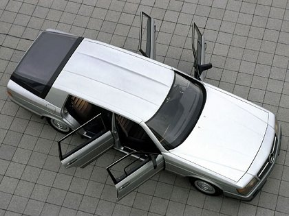 Concept Flashback - 1978 Mercedes-Benz Auto 2000 Concept Is Fastback Aero Limo4