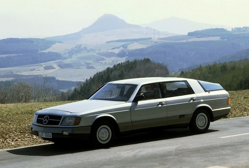 Concept Flashback - 1978 Mercedes-Benz Auto 2000 Concept Is Fastback Aero Limo7