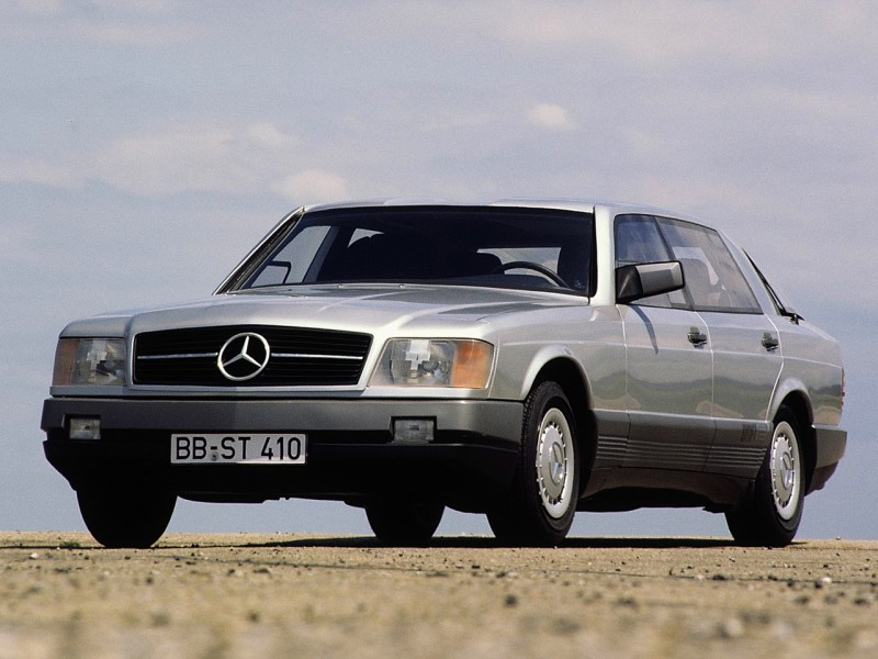 Concept Flashback - 1978 Mercedes-Benz Auto 2000 Concept Is Fastback Aero Limo8