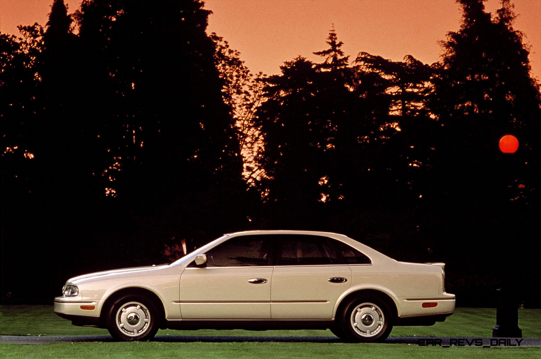 Nissan X Trail >> Concept Flashback - 1985 Nissan Cue-X Inspired Original Infiniti Q45 Flagship and Future Q80