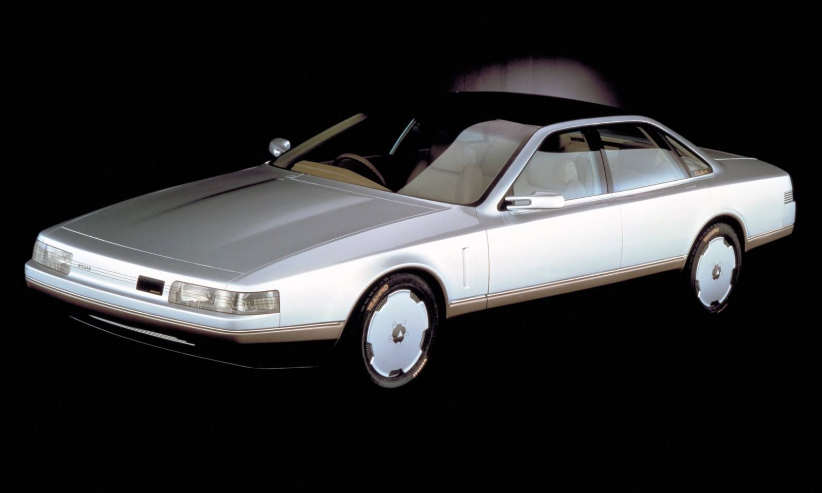 Concept Flashback - 1985 Nissan Cue-X Inspired Original Infiniti Q45 Flagship and Future Q80 14