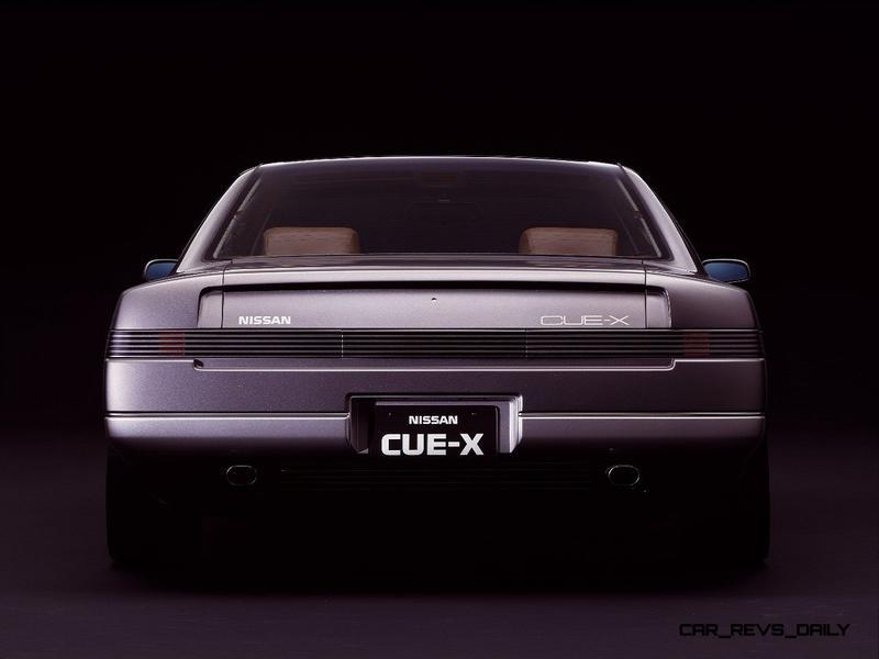 Concept Flashback - 1985 Nissan Cue-X Inspired Original Infiniti Q45 Flagship and Future Q80 15