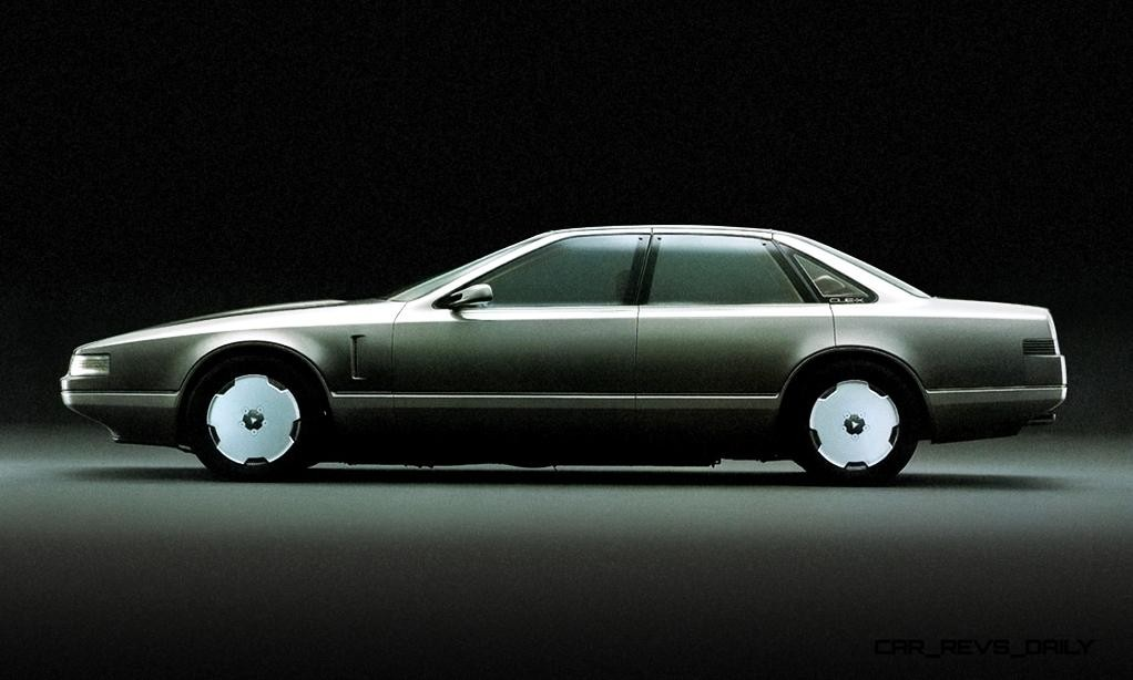Concept Flashback - 1985 Nissan Cue-X Inspired Original Infiniti Q45 Flagship and Future Q80 16