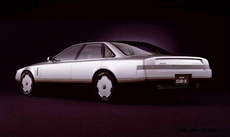 Concept Flashback - 1985 Nissan Cue-X Inspired Original Infiniti Q45 Flagship and Future Q80 19