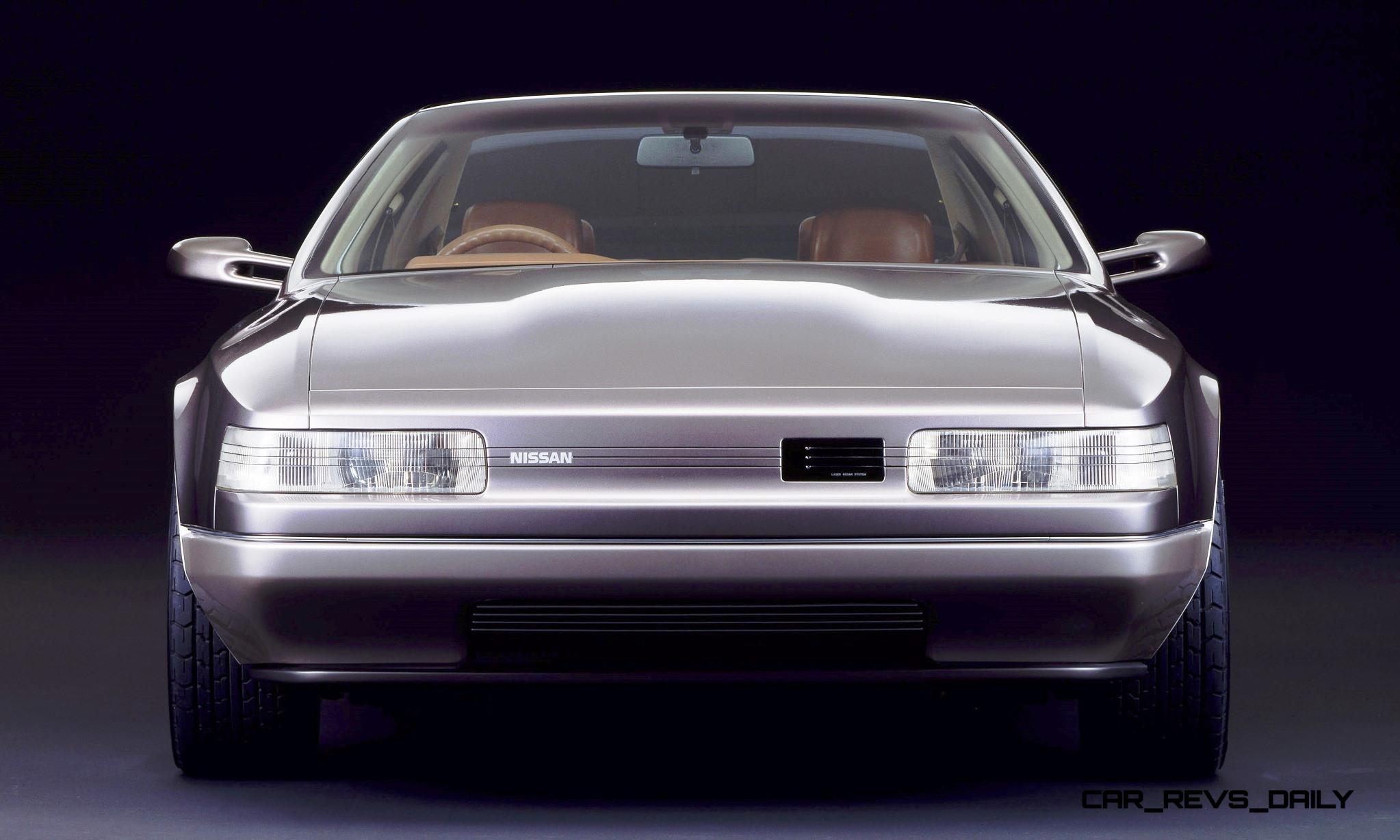 Concept Flashback - 1985 Nissan Cue-X Inspired Original Infiniti Q45 Flagship and Future Q80