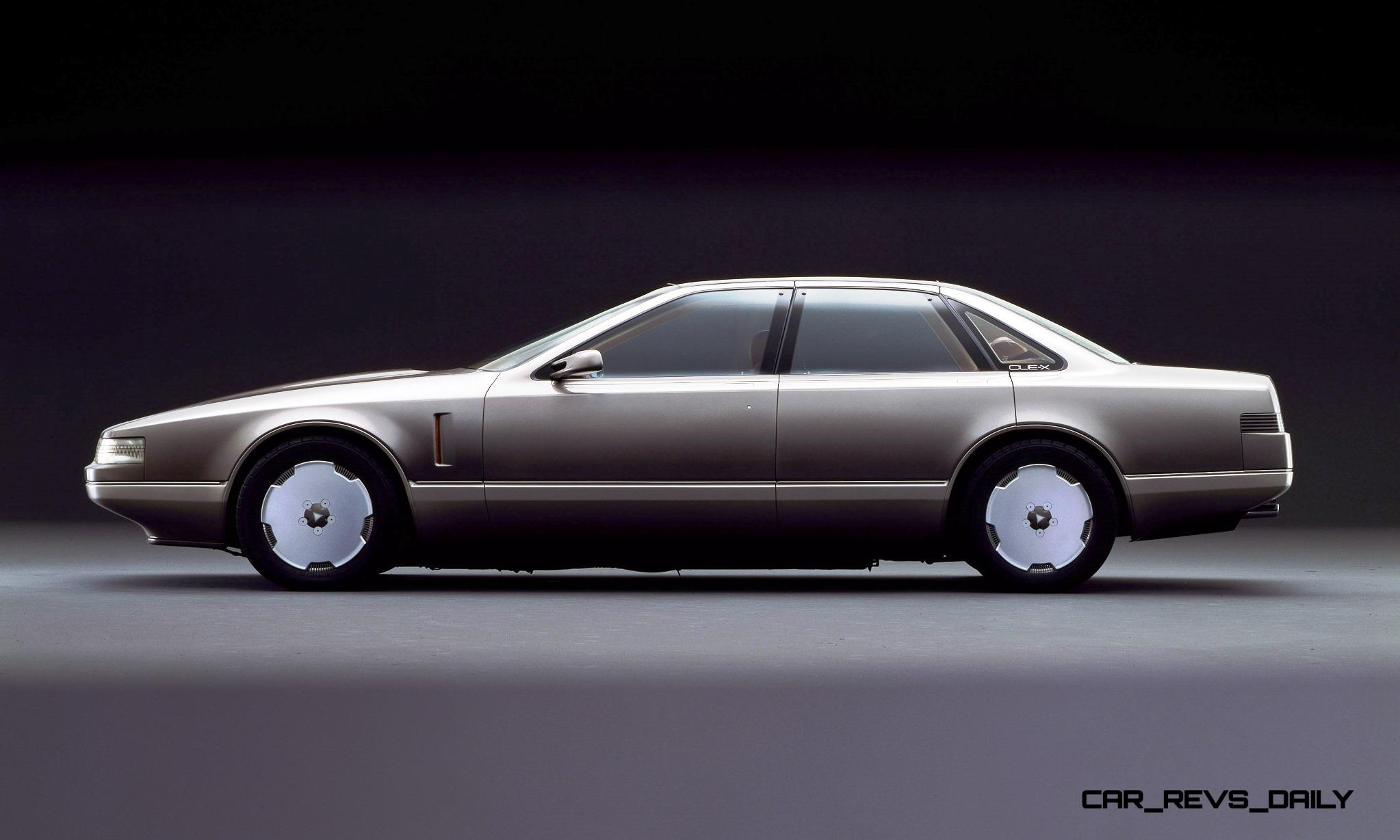 Concept Flashback 1985 Nissan Cue X Inspired Original
