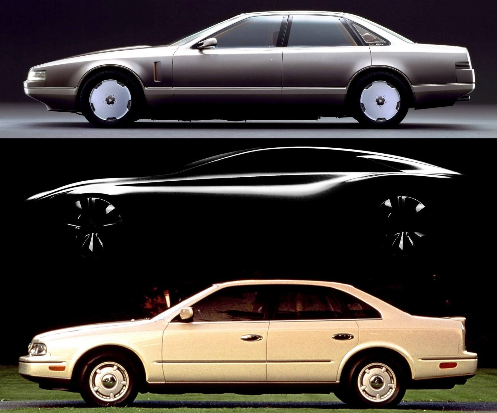 Concept Flashback - 1985 Nissan Cue-X Inspired Original Infiniti Q45 Flagship and Future Q80 222-vert534