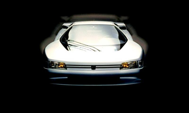 Concept Flashback - 1988 Peugeot OXIA Is T16 Mid-Engine Racecar 7