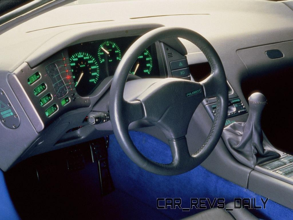 Concept Flashback - 1988 Peugeot OXIA Is T16 Mid-Engine Racecar 9