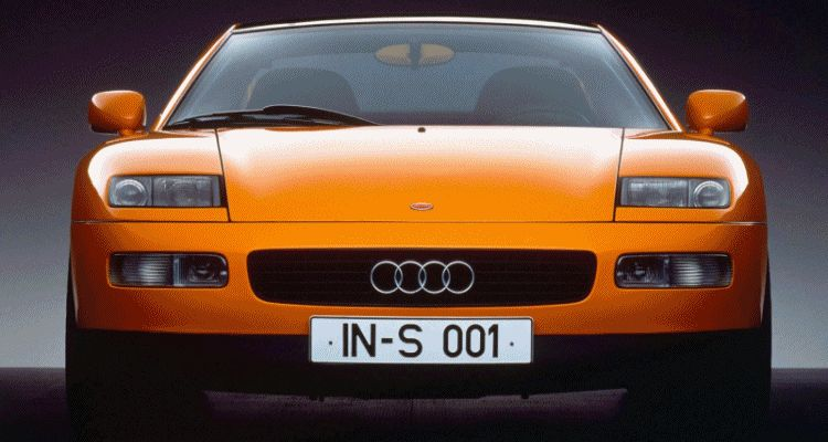 Concept Flashback - 1991 Audi Quattro Spyder GIF header1