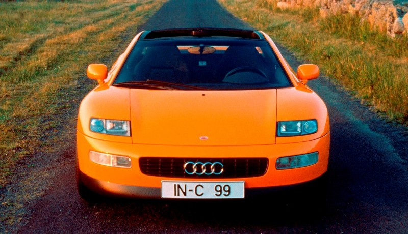 Concept Flashback - 1991 Audi Quattro Spyder Provides Clean, Modern Design Roadmap for Struggling Brand 10