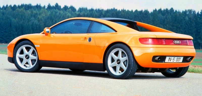 Concept Flashback - 1991 Audi Quattro Spyder Provides Clean, Modern Design Roadmap for Struggling Brand 11