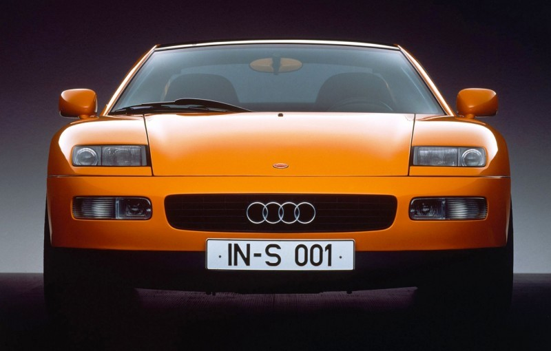 Concept Flashback - 1991 Audi Quattro Spyder Provides Clean, Modern Design Roadmap for Struggling Brand 13