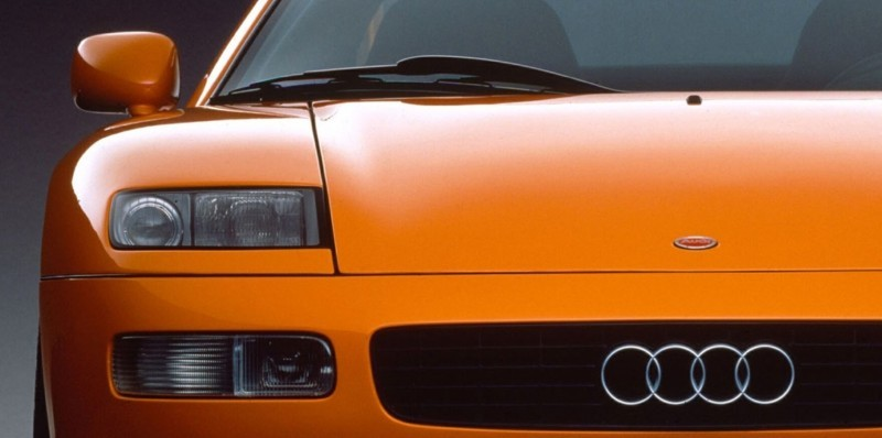 Concept Flashback - 1991 Audi Quattro Spyder Provides Clean, Modern Design Roadmap for Struggling Brand 14