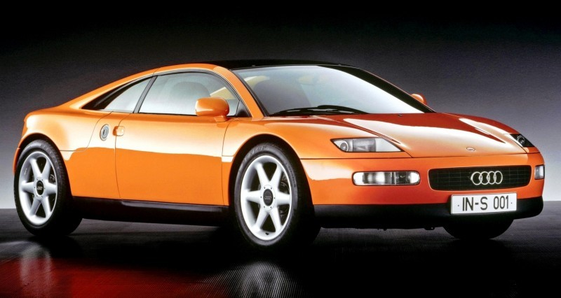 Concept Flashback - 1991 Audi Quattro Spyder Provides Clean, Modern Design Roadmap for Struggling Brand 6