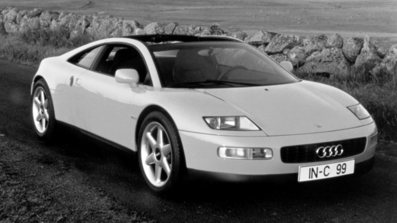 Concept Flashback - 1991 Audi Quattro Spyder Provides Clean, Modern Design Roadmap for Struggling Brand 9