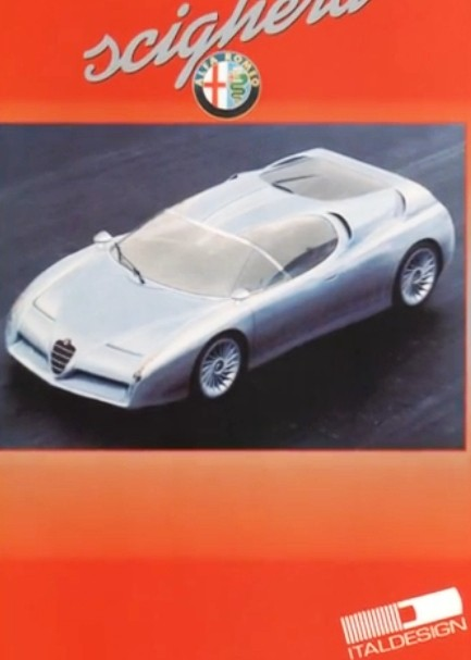 Concept Flashback - 1997 Alfa Romeo Scighera is Mid-Engine Twin-Turbo V6 Hypercar 11