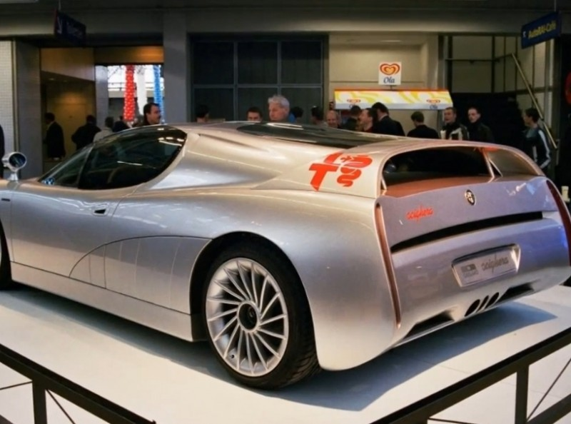 Concept Flashback - 1997 Alfa Romeo Scighera is Mid-Engine Twin-Turbo V6 Hypercar 12