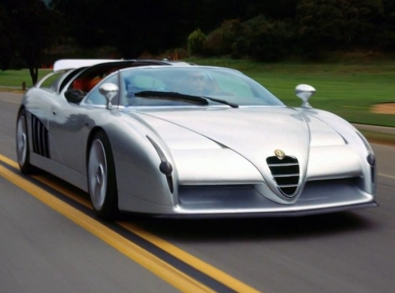 Concept Flashback - 1997 Alfa Romeo Scighera is Mid-Engine Twin-Turbo V6 Hypercar 14
