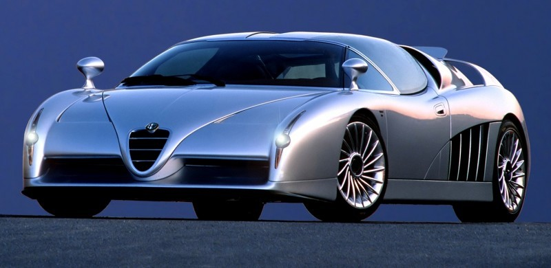 Concept Flashback - 1997 Alfa Romeo Scighera is Mid-Engine Twin-Turbo V6 Hypercar 16