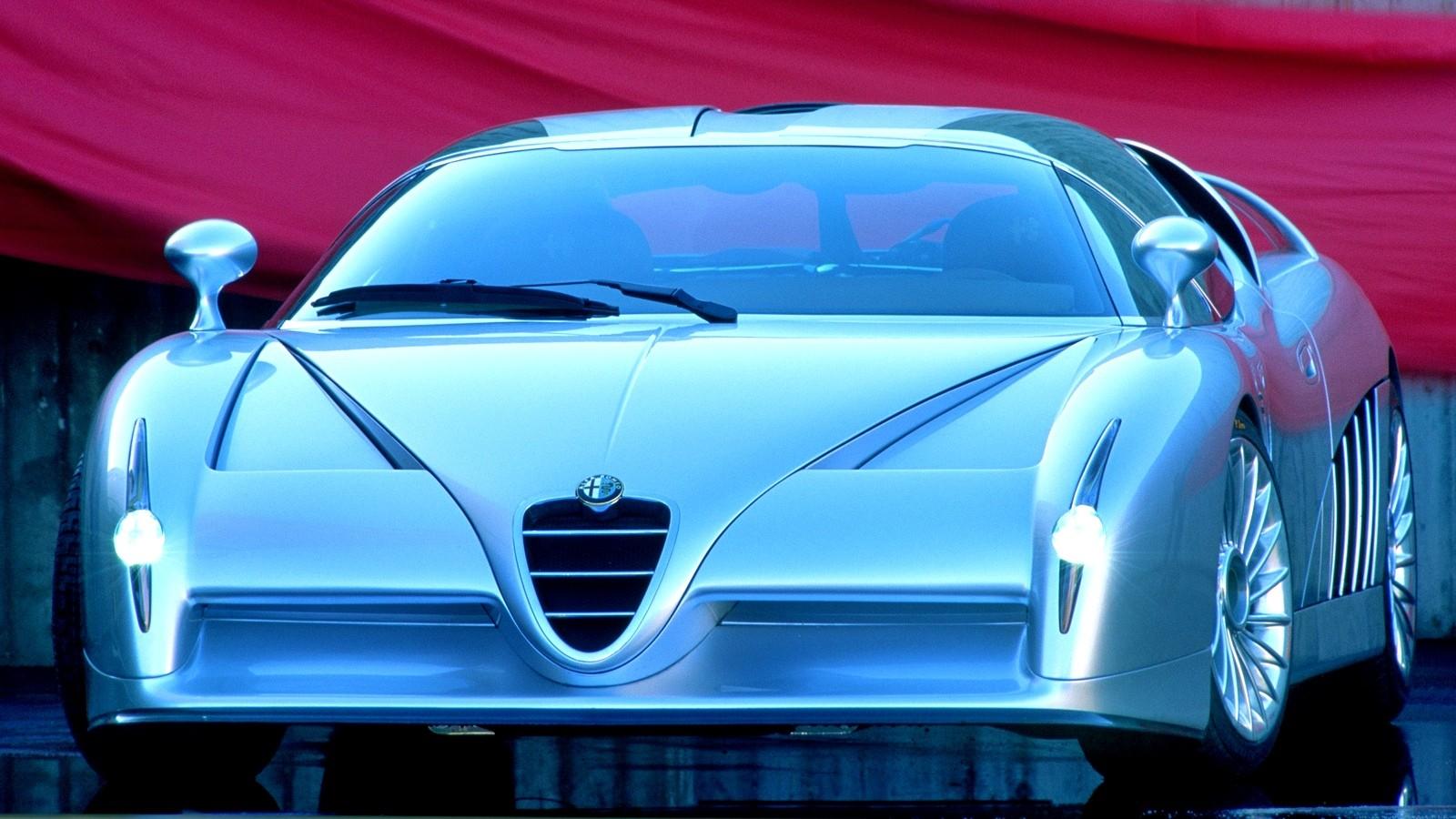 1997 Alfa Romeo Scighera Is Mid-Engine