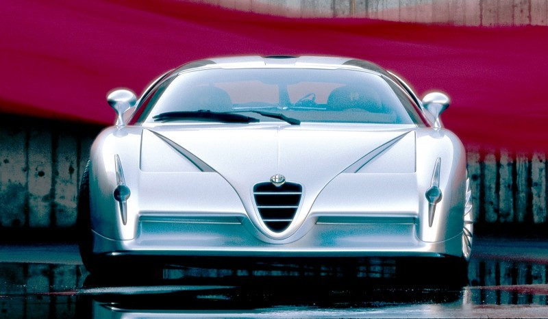 Concept Flashback - 1997 Alfa Romeo Scighera is Mid-Engine Twin-Turbo V6 Hypercar 18
