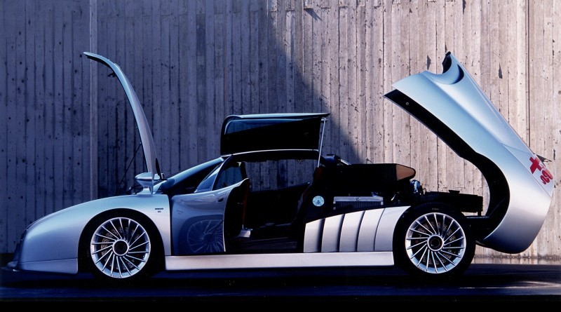 Concept Flashback - 1997 Alfa Romeo Scighera is Mid-Engine Twin-Turbo V6 Hypercar 19