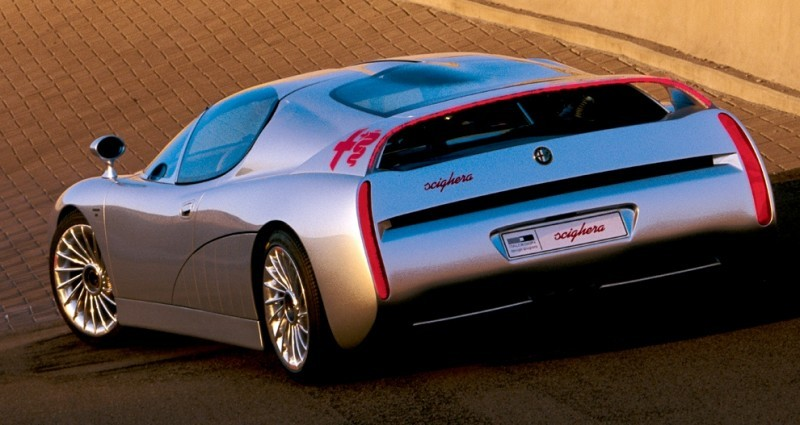 Concept Flashback - 1997 Alfa Romeo Scighera is Mid-Engine Twin-Turbo V6 Hypercar 20