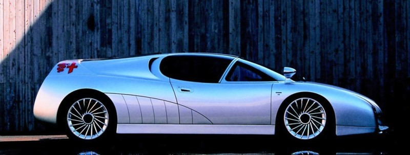 Concept Flashback - 1997 Alfa Romeo Scighera is Mid-Engine Twin-Turbo V6 Hypercar 22