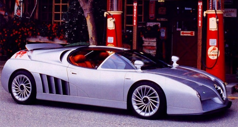 Concept Flashback - 1997 Alfa Romeo Scighera is Mid-Engine Twin-Turbo V6 Hypercar 26