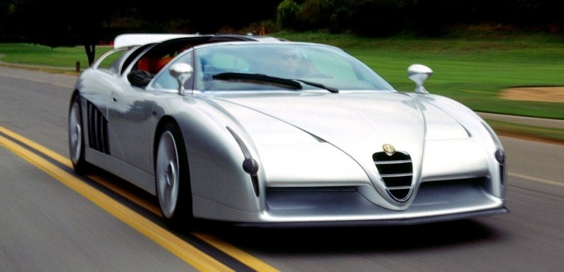 Concept Flashback - 1997 Alfa Romeo Scighera is Mid-Engine Twin-Turbo V6 Hypercar 27