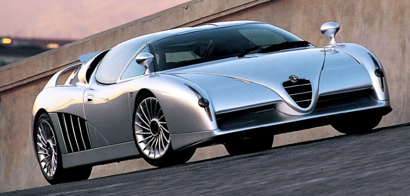 Concept Flashback - 1997 Alfa Romeo Scighera is Mid-Engine Twin-Turbo V6 Hypercar 28