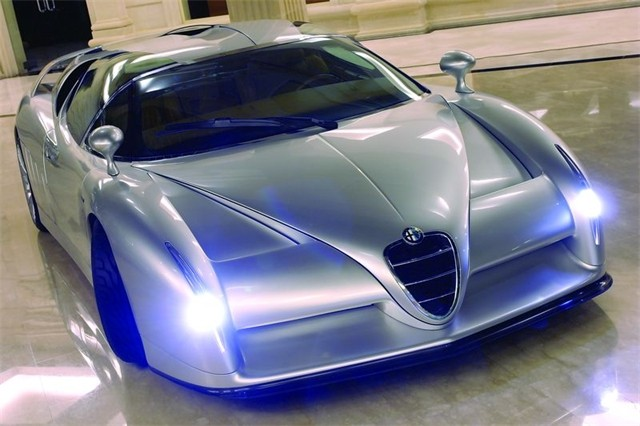 Concept Flashback - 1997 Alfa Romeo Scighera is Mid-Engine Twin-Turbo V6 Hypercar 29