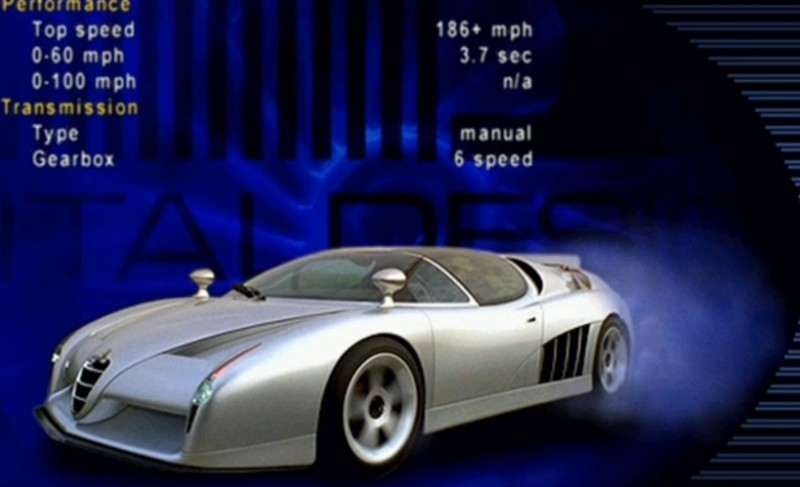 Concept Flashback - 1997 Alfa Romeo Scighera is Mid-Engine Twin-Turbo V6 Hypercar 3