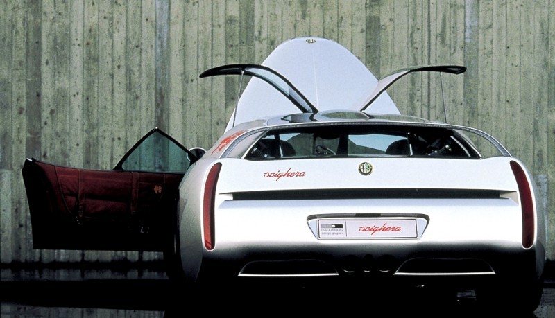 Concept Flashback - 1997 Alfa Romeo Scighera is Mid-Engine Twin-Turbo V6 Hypercar 30