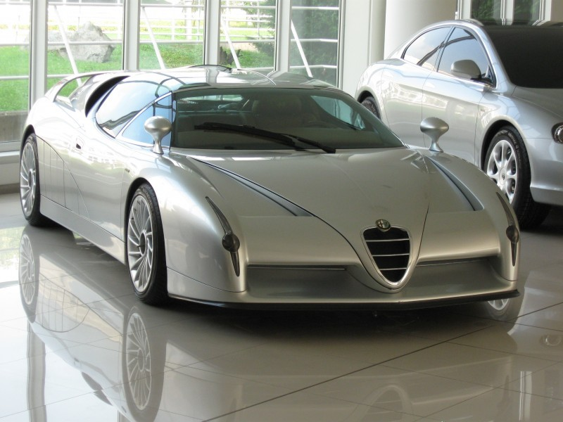 Concept Flashback - 1997 Alfa Romeo Scighera is Mid-Engine Twin-Turbo V6 Hypercar 32