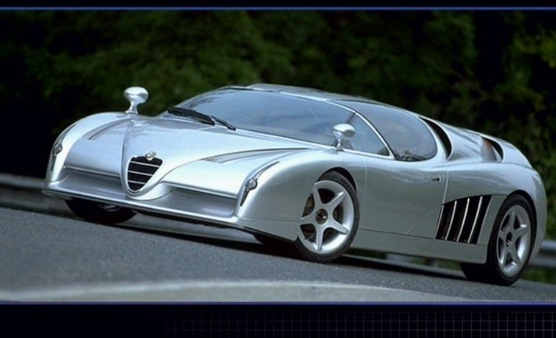 Concept Flashback - 1997 Alfa Romeo Scighera is Mid-Engine Twin-Turbo V6 Hypercar 6