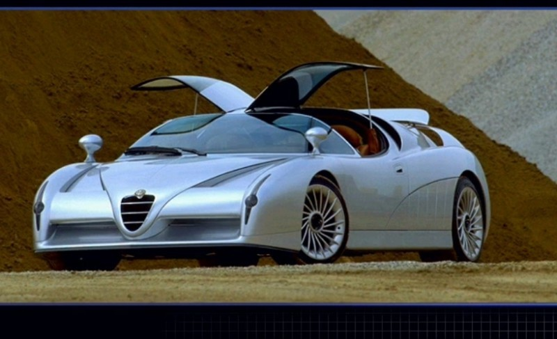 Concept Flashback - 1997 Alfa Romeo Scighera is Mid-Engine Twin-Turbo V6 Hypercar 8