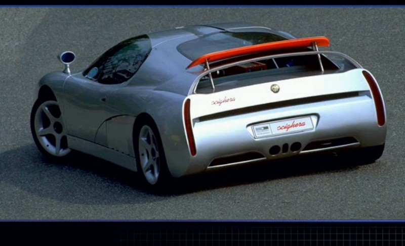 Concept Flashback - 1997 Alfa Romeo Scighera is Mid-Engine Twin-Turbo V6 Hypercar 9