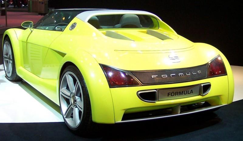 Concept Flashback - 1999 SEAT Formula Roadster 12
