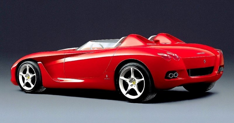 Concept Flashback - 2000 Ferrari Rossa Concept Speedster Influences Corvette, NC2020 and F12 TRS 1