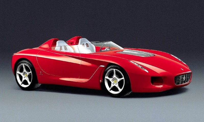 Concept Flashback - 2000 Ferrari Rossa Concept Speedster Influences Corvette, NC2020 and F12 TRS 10