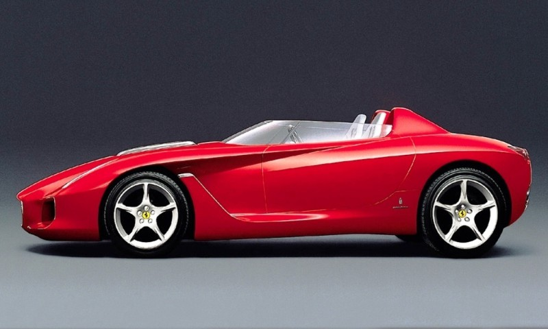 Concept Flashback - 2000 Ferrari Rossa Concept Speedster Influences Corvette, NC2020 and F12 TRS 11