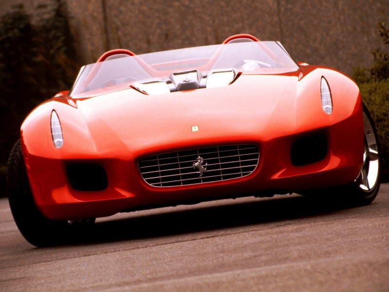 Concept Flashback - 2000 Ferrari Rossa Concept Speedster Influences Corvette, NC2020 and F12 TRS 12