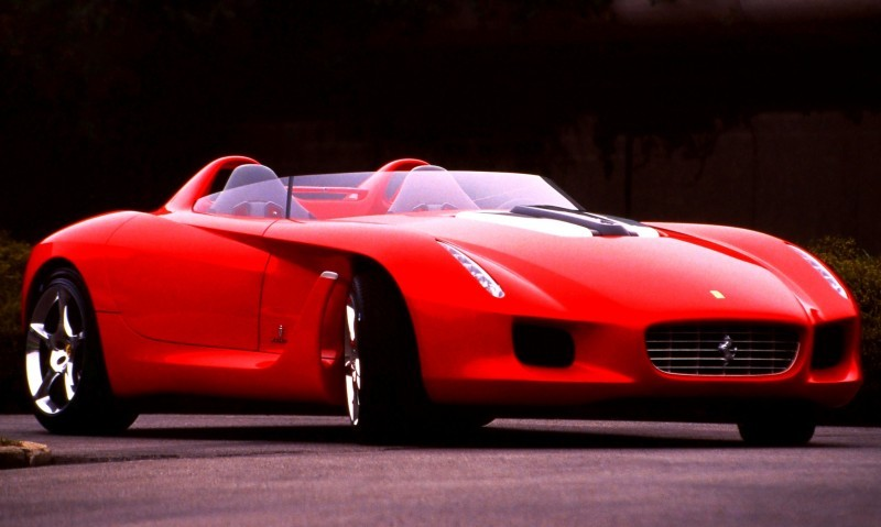 Concept Flashback - 2000 Ferrari Rossa Concept Speedster Influences Corvette, NC2020 and F12 TRS 13