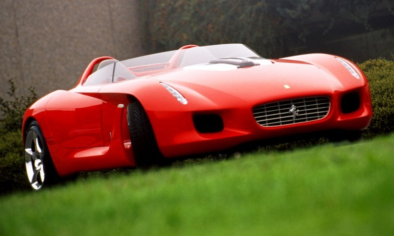 Concept Flashback - 2000 Ferrari Rossa Concept Speedster Influences Corvette, NC2020 and F12 TRS 14