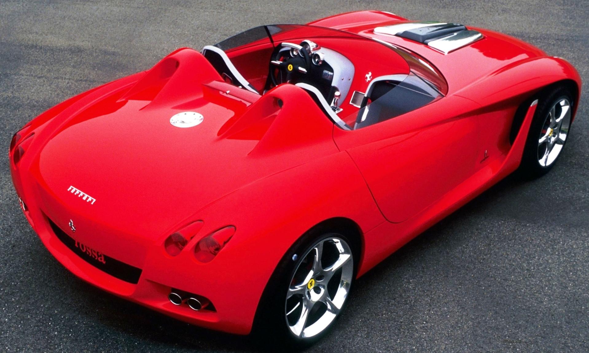 Concept Flashback - 2000 Ferrari Rossa Concept Speedster Influences Corvette, NC2020 and F12 TRS 15