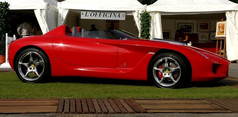 Concept Flashback - 2000 Ferrari Rossa Concept Speedster Influences Corvette, NC2020 and F12 TRS 18